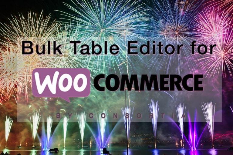 Bulk Table Editor - celebration