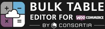 Bulk Table Editor logo black